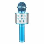 micro-karaoke-bleu
