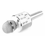 micro-multifonction-karaoke-argent