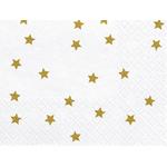 serviette-papier-blanche-etoile