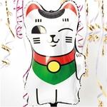 ballon-helium-chat-blanc