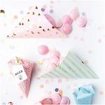 cone-papier-coeur-rose
