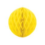 boule-papier-alveole-jaune