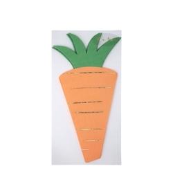 16 serviettes carotte