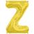 ballon-lettre-z-alu-dore