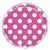 ballon-metallise-rose-fuchsia-a-pois