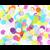 confetti-papier-de-soie-multicolore
