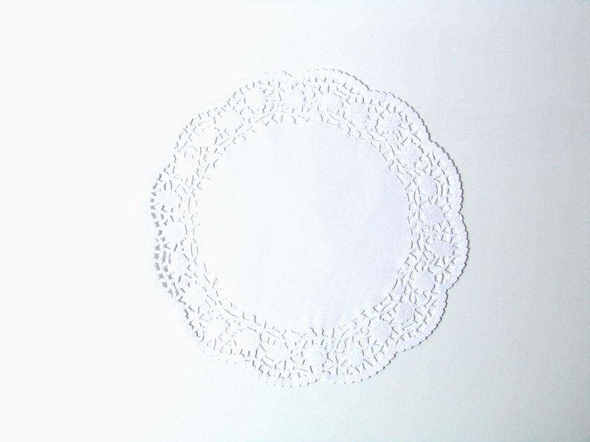 napperon dentelle rond en papier blanc sweet party day. Black Bedroom Furniture Sets. Home Design Ideas