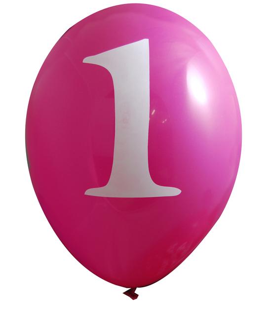 Ballon b b 1 an anniversaire garcon fille achat vente for Anniversaire bebe 1 an decoration