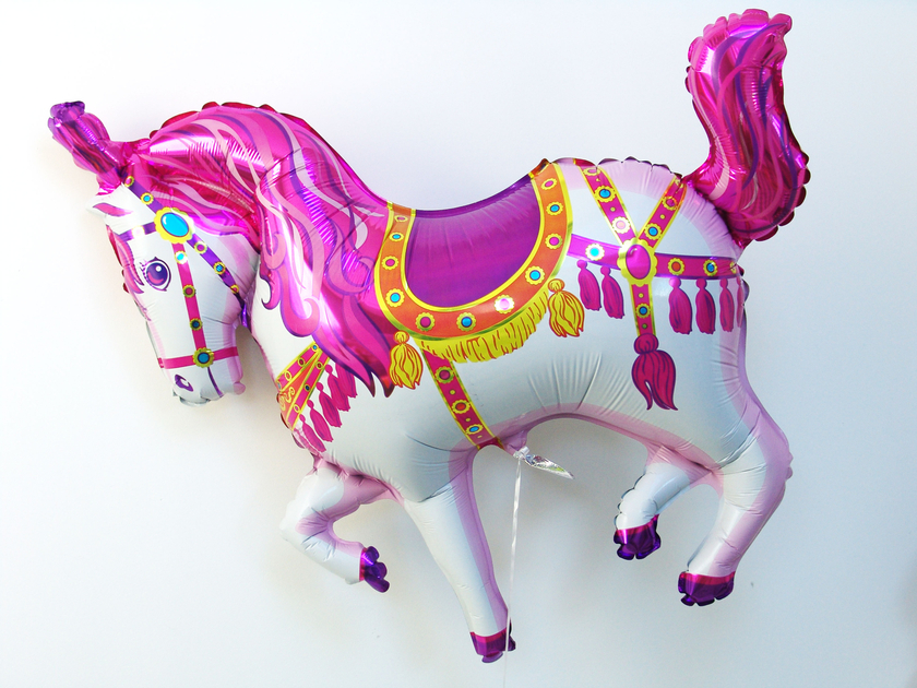 ballon anniversaire cheval
