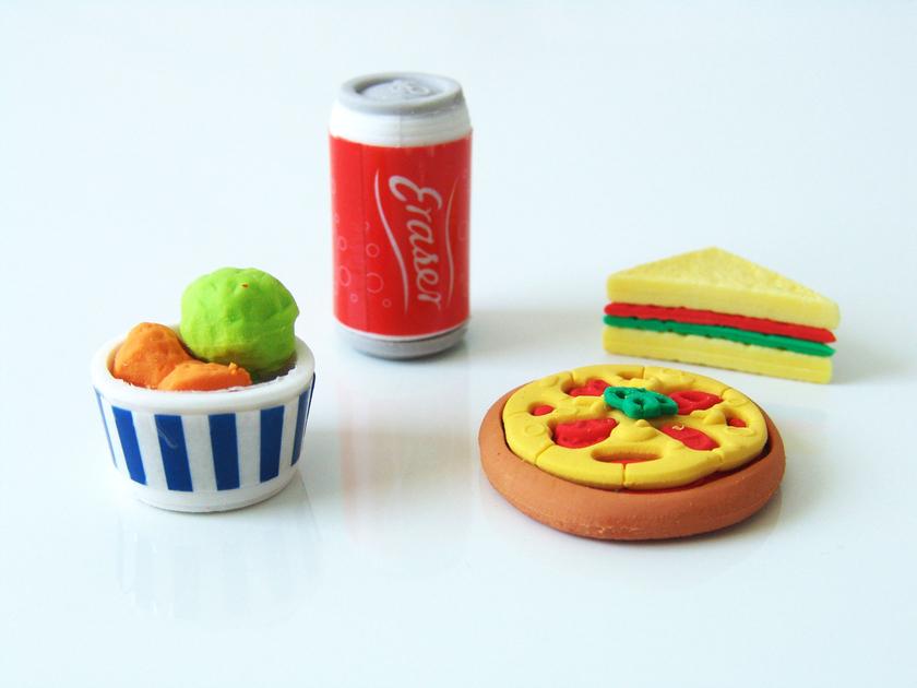 Gomme street food petit cadeau invit original sweet - Cadeau original cuisine ...