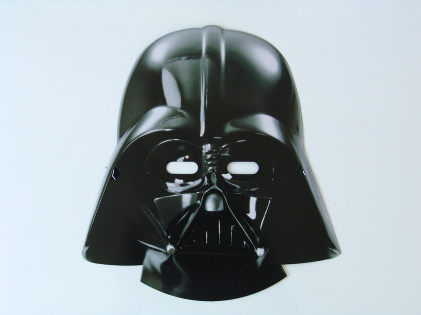masques en papier dark vador star wars achat vente. Black Bedroom Furniture Sets. Home Design Ideas