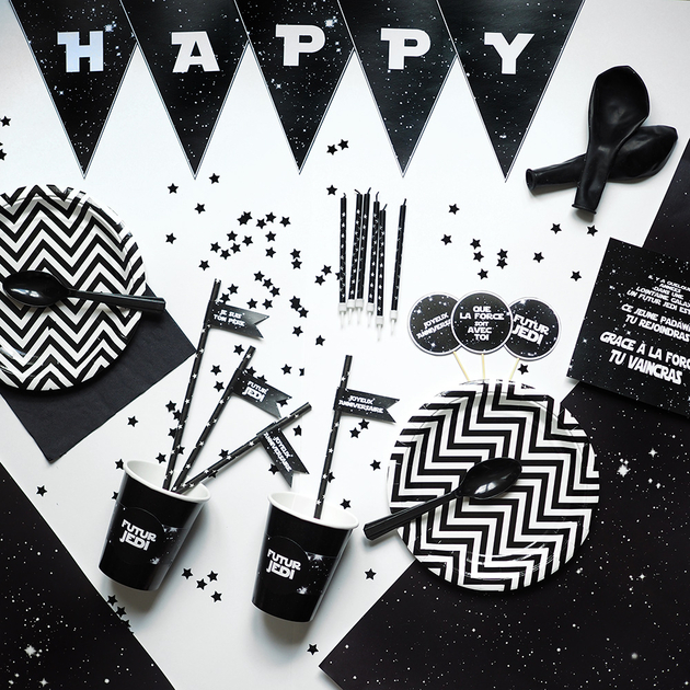 Kit Galaxie Decoration Anniversaire Star Wars Achat Vente
