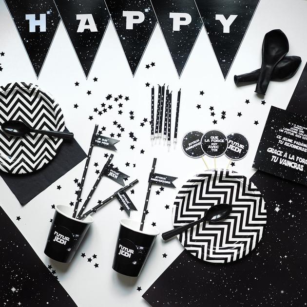 Célèbre Kit galaxie decoration anniversaire Star Wars - Achat / Vente ZN85