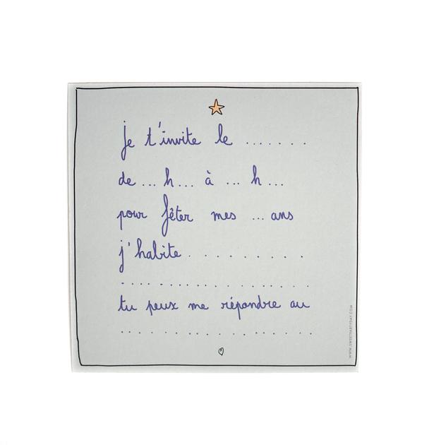 carte invitation anniversaire licorne fille achat vente
