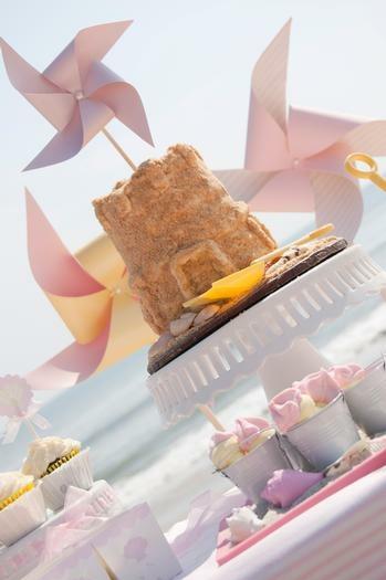 gâteau-château-de-sable