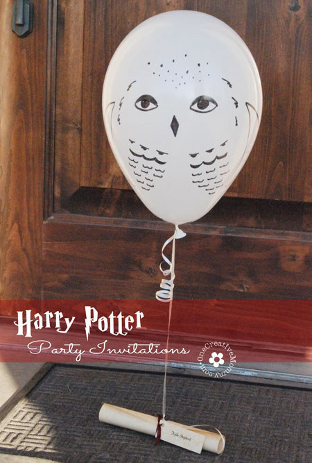 Blog sweet party day deco de f te anniversaire baby shower diy - Harry potter chouette ...