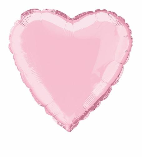 ballon-mylar-coeur-rose