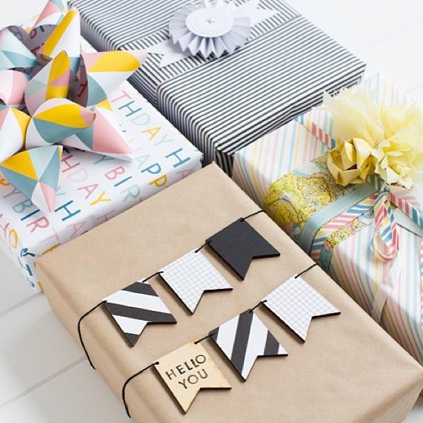 No l blog de deco fete anniversaire baby shower bapteme - Comment faire des paquets cadeaux ...
