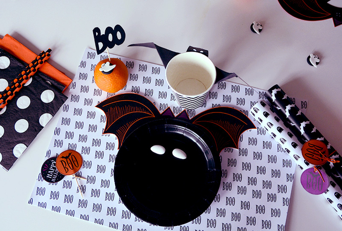 Decoration De Table Pour Halloween Fait Maison : Halloween de deco fete anniversaire baby shower