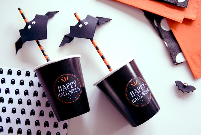 Halloween blog de deco fete anniversaire baby shower for Chauve souris d halloween