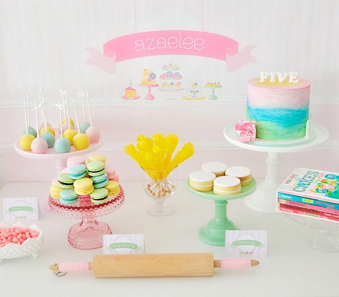 Sweet table blog de deco fete anniversaire baby shower - La table a dessert ...