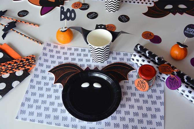 idee halloween diy d co facile a faire soi meme fait maison pas cher. Black Bedroom Furniture Sets. Home Design Ideas