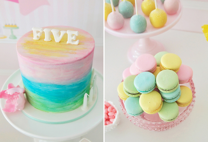 Water-Color-Party-Cake