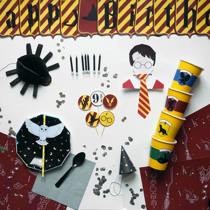Kit Deco Harry Potter A Imprimer Gratuitement Sweet Party Day