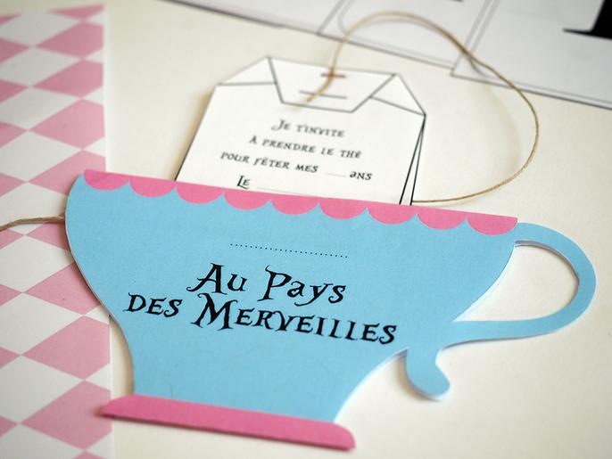 Printable Anniversaire Alice Au Pays Des Merveilles A Imprimer Gratuit