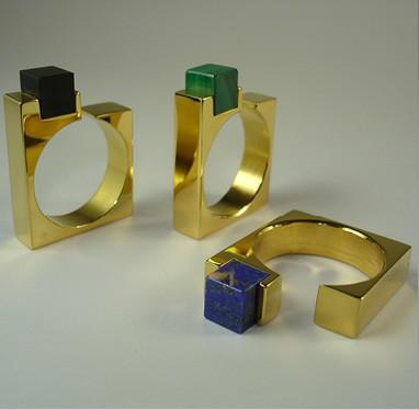 Bague BAC66 plaquée or