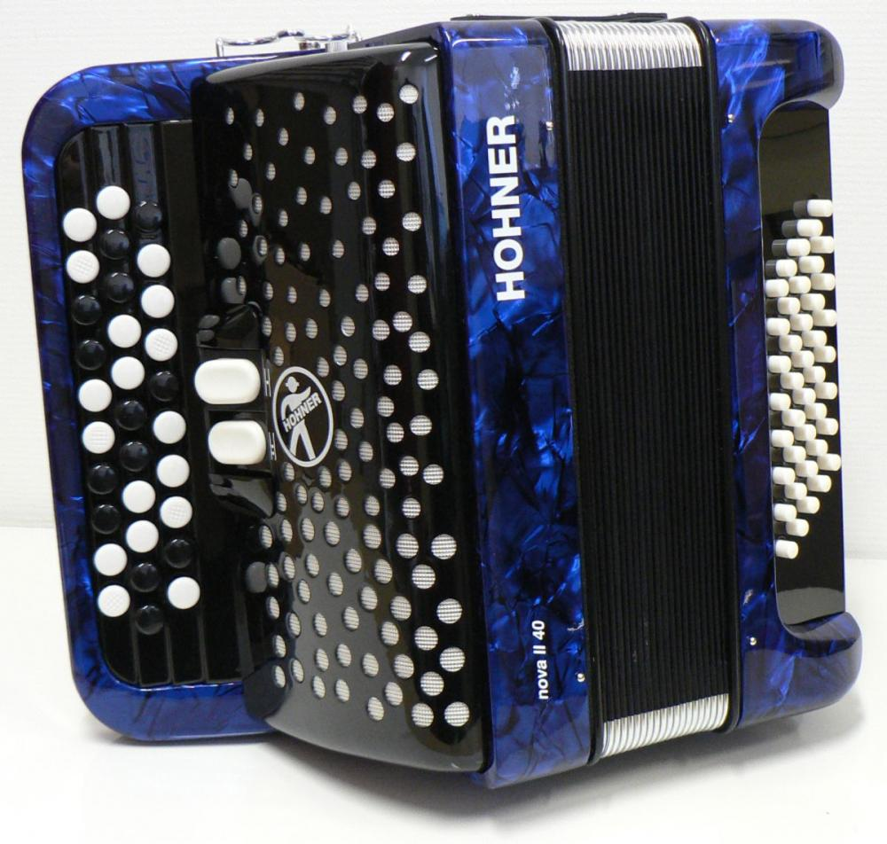 HOHNER+ACCOR+NOVA40+BLEU