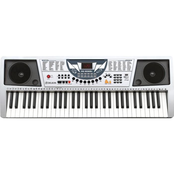 delson-clavier-61-touches-DE-908- SILVER