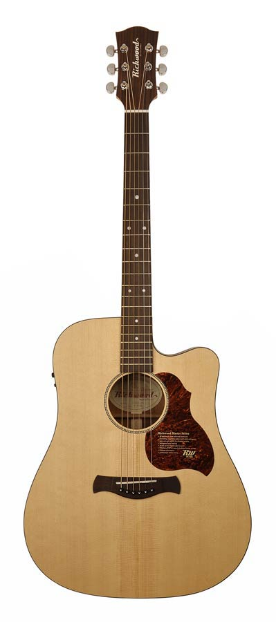GUITARE folk électro RICHWOOD D20 CE Master Séries guitare dreadnought