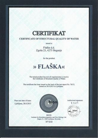 certificat evapo