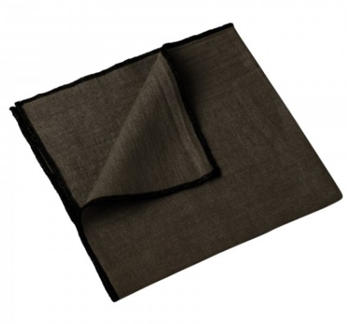 nappe et serviette letia brownie