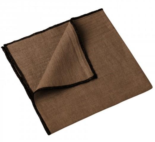 nappe et serviette letia tabac