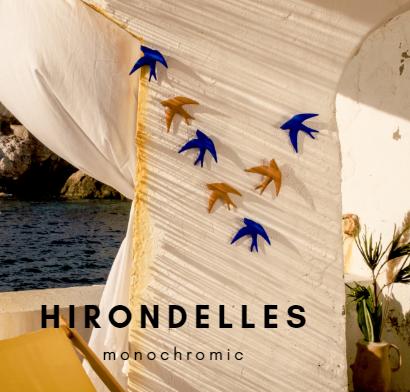 hirondelles volages monochromic 2021