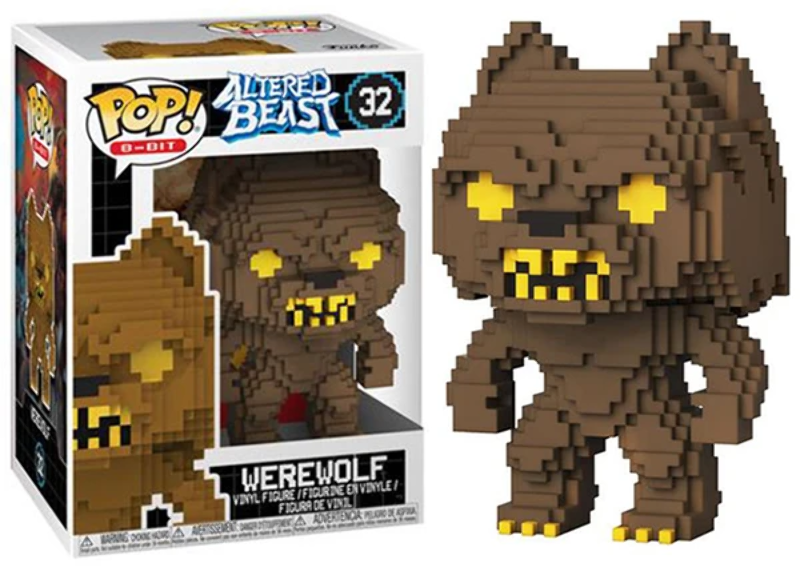 8-bit Altered Beasts - Werewolf Numéro 32