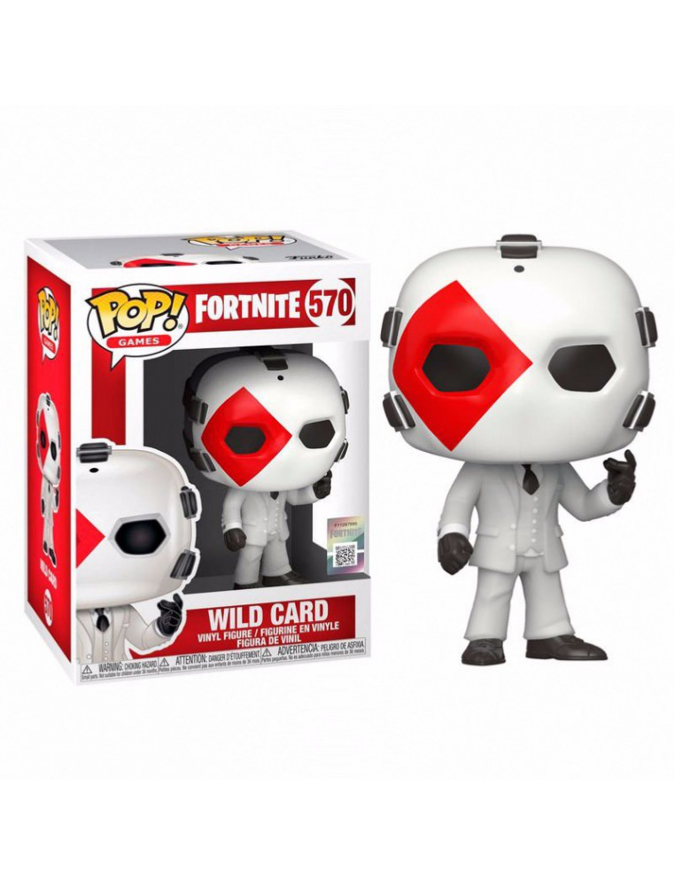 POP! Games Fortnite - WILD CARD (DIAMOND) Numéro 570
