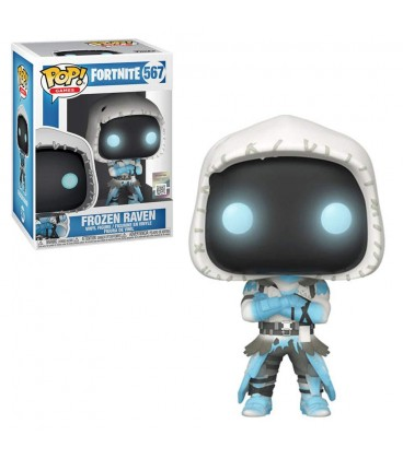Funko POP! Games Fortnite - Frozen Raven - S4 Numéro 567