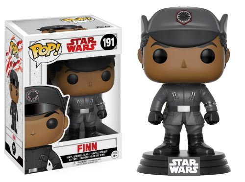 POP! Star Wars Ep. 8 The last Jedi - Finn Numéro 191