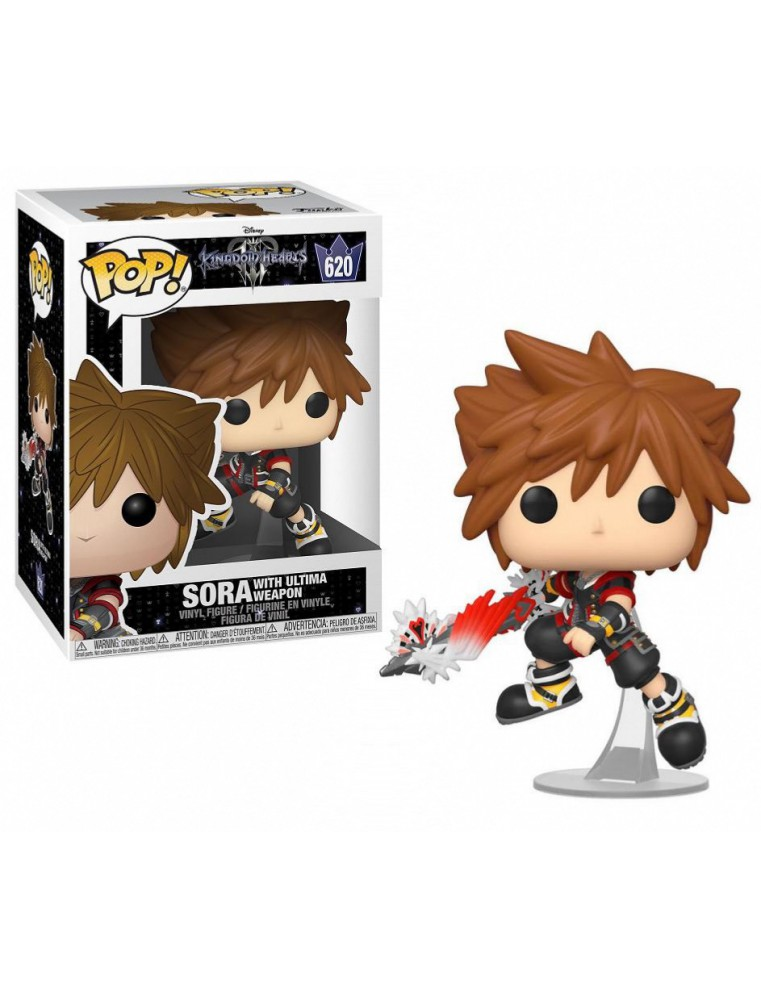 SORA WITH ULTIMA WEAPON