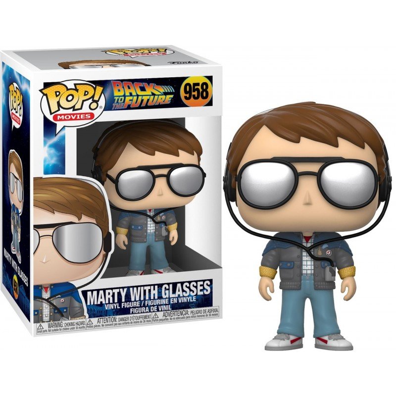 Back to the future - Marty with glasses Numéro 958