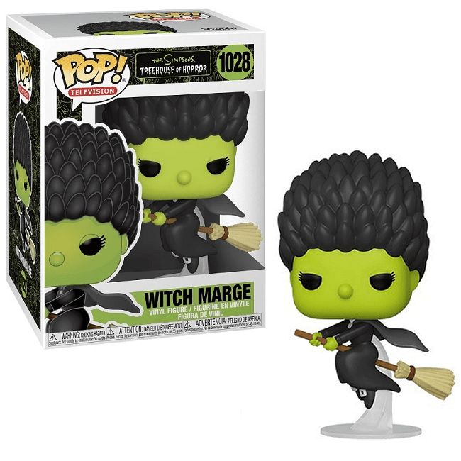 Simpsons - Witch Marge Vinyl Figure - Numéro 1028