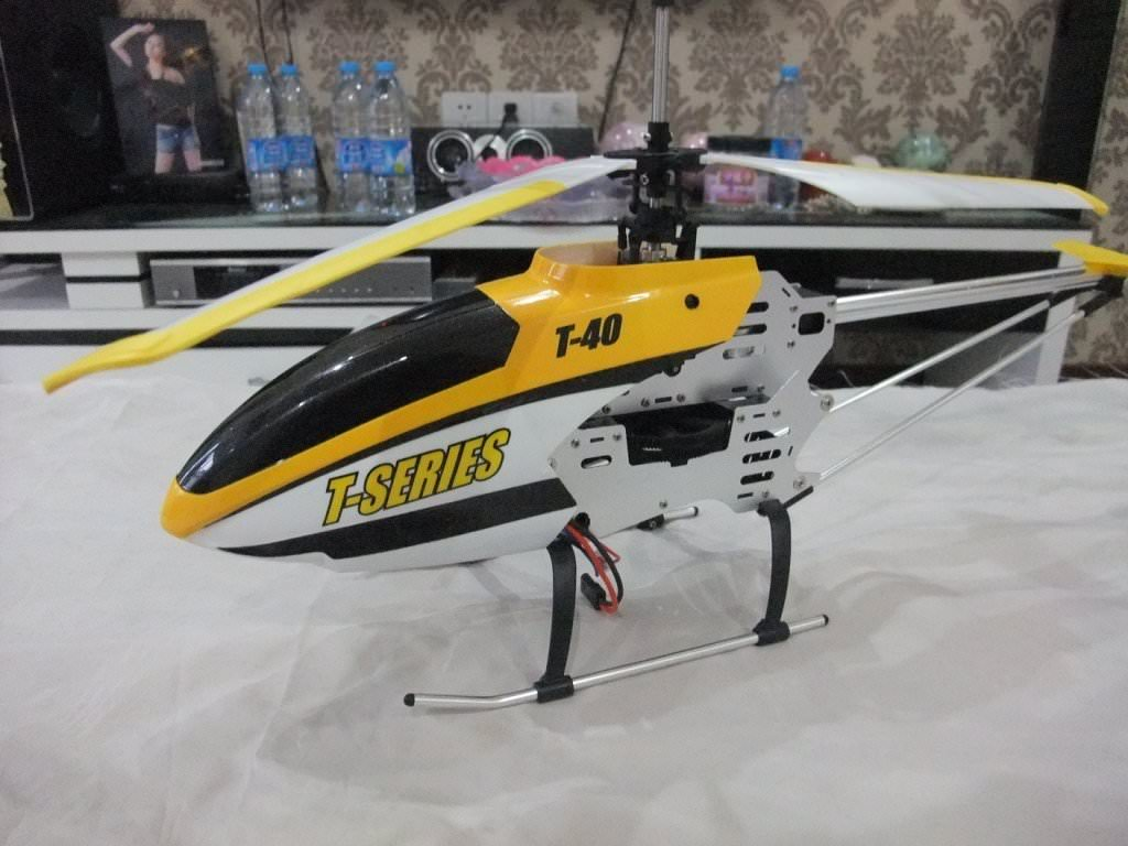 Helicoptere geant 81 cm rc cam ra photo mjx t 40 for Helicoptere rc electrique exterieur