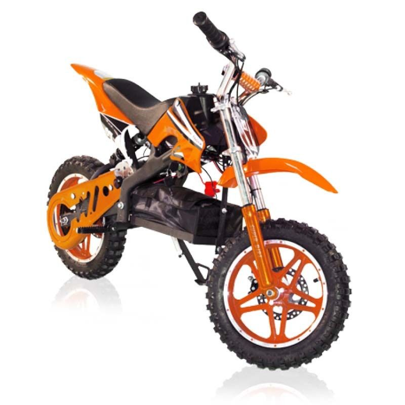 e dirt bike mini moto cross moteur lectrique 800 watts. Black Bedroom Furniture Sets. Home Design Ideas
