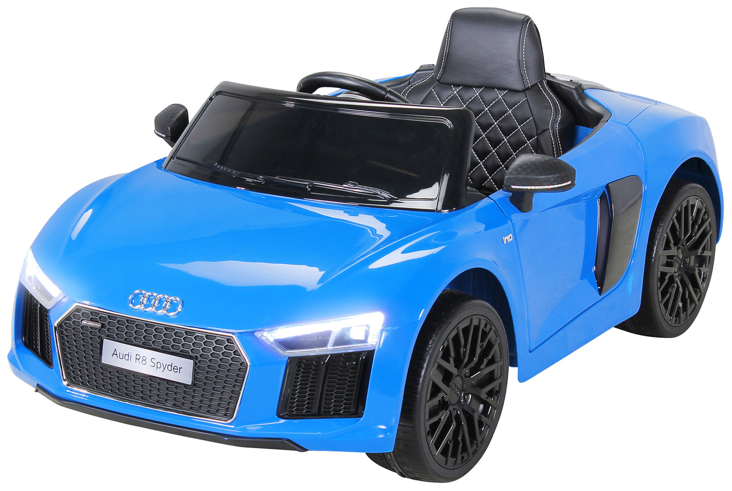 voiture lectrique enfant audi r 8 spyder jouets v hicules d 39 enfant e discount europe. Black Bedroom Furniture Sets. Home Design Ideas