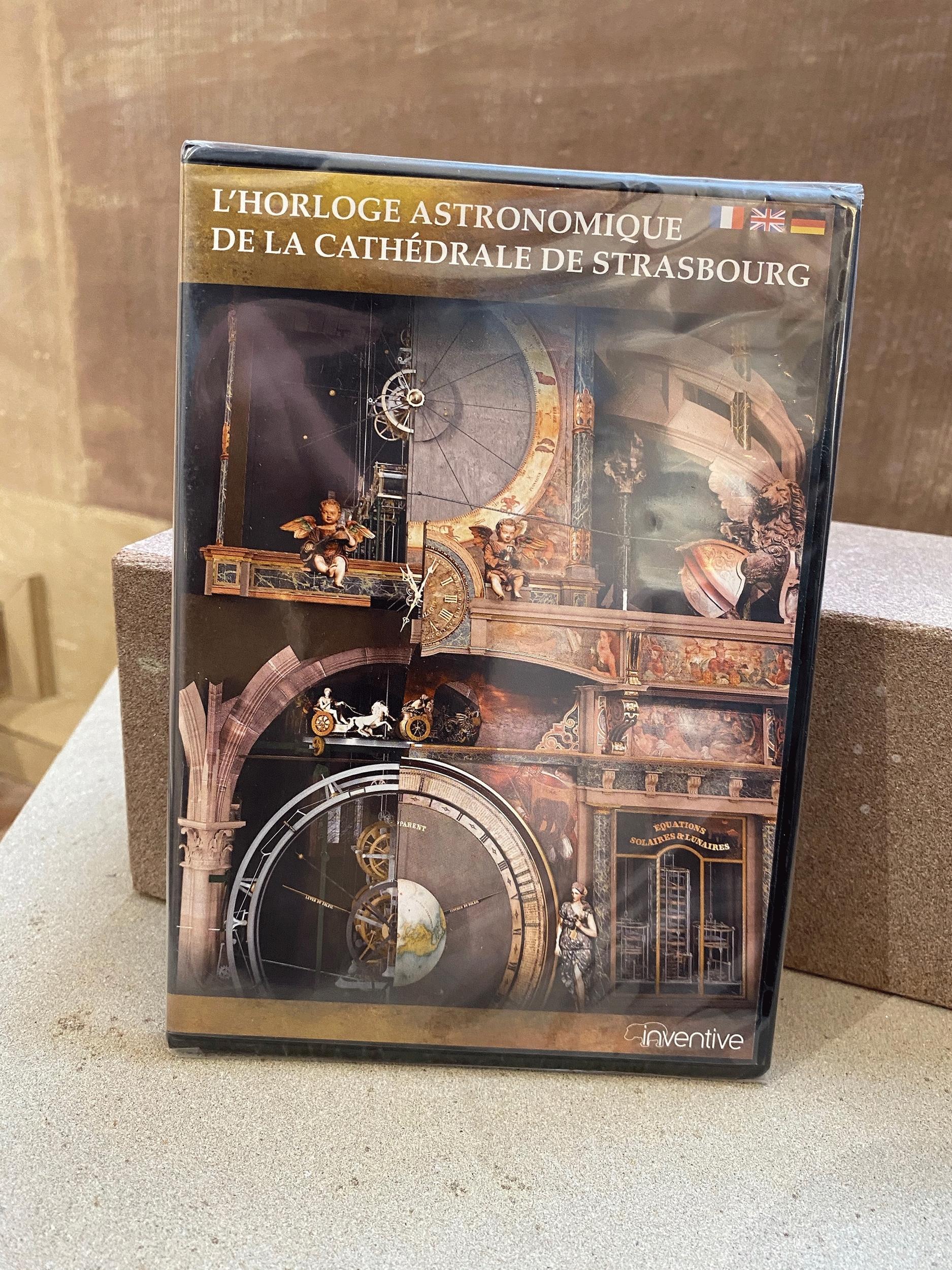 DVD du film de l\'horloge Astronomique