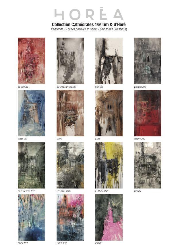 Cartes Postales Cathédrale Horéa Pack de 15, Série 2