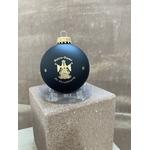 Boule Noël noire cathédrale vierge notre dame strasbourg